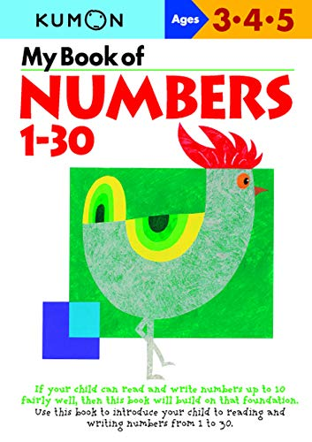 My Book of Numbers, 1-30 (Kumon's Practice Books)