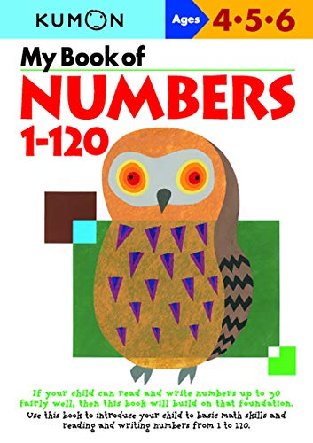 9784774307046: My Book Of Numbers 1-120 (Kumon Workbooks)