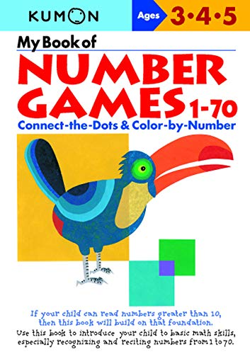 9784774307596: My Book of Number Games, 1-70: Ages 3, 4, 5