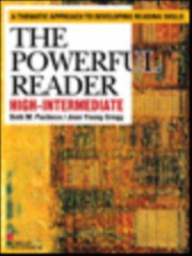 9784777360444: Powerful Reader High Intermediate, The Student Book