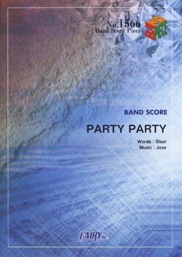 9784777618132: バンドスコアピース1566 PARTY PARTY/TOTALFAT (BAND SCORE PIECE)