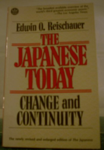 9784805305126: Japanese Today Change and Continuity