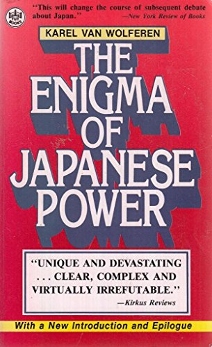 super popular bfc2c 2b1c1 9784805305416  The Enigma of Japanese Power   People and Politics in a  Stateless Nation