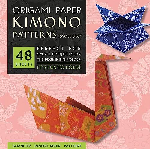 9784805310403: Origami Paper - Kimono Patterns - Small 6 3/4