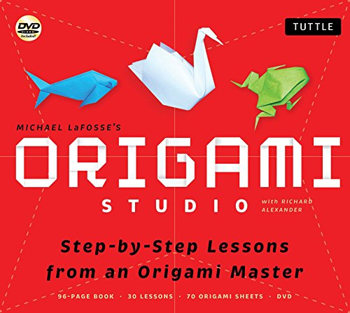 9784805311523: Origami Studio: Step-by-Step Lessons from an Origami Master