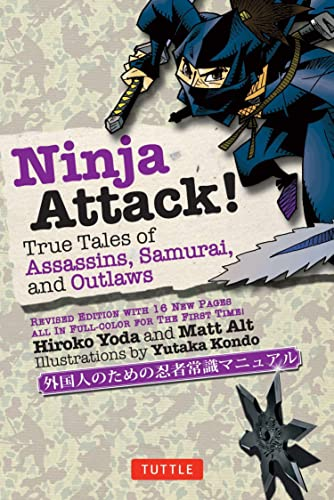 9784805312186: Ninja Attack!: True Tales of Assassins, Samurai, and Outlaws