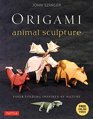 9784805312629: Origami Animal Sculpture: Paper Folding Inspired by Nature: Fold and Display Intermediate to Advanced Origami Art: Origami Book with 22 Models and DVD