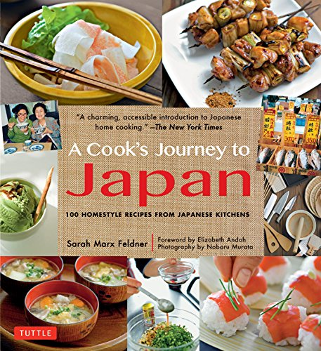 9784805312988: A Cook's Journey to Japan: 100 Homestyle Recipes from Japanese Kitchens