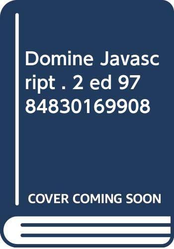 9784830169908: Domine Javascript . 2 ed 9784830169908