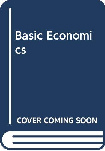 9784833700184: Basic Economics