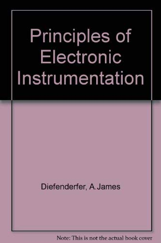 9784833700221: Principles of Electronic Instrumentation