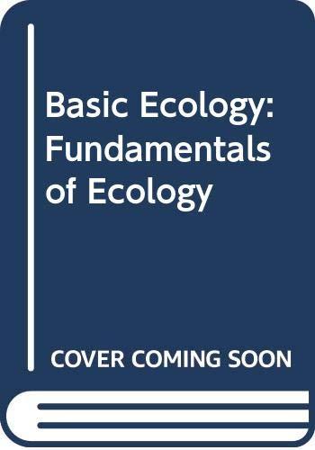 9784833700801: Basic Ecology: Fundamentals of Ecology