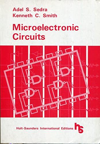 9784833700900: Microelectronic Circuits