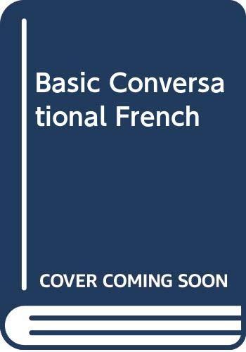 9784833701136: Basic Conversational French