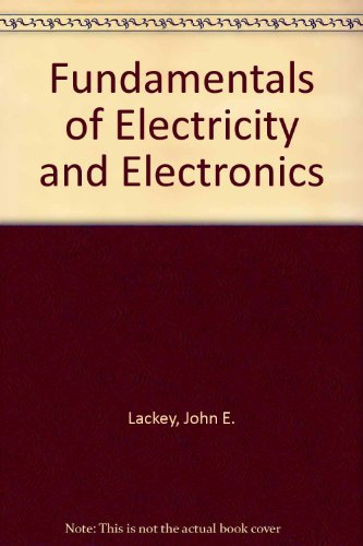 9784833701549: Fundamentals of Electricity and Electronics