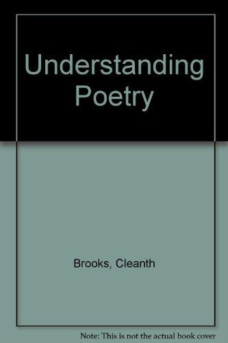 9784833701709: Understanding Poetry