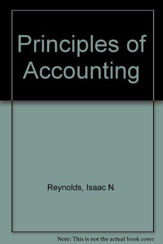 9784833701846: Principles of Accounting