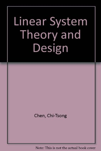 9784833701914: Linear System Theory and Design