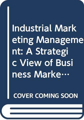 9784833702560: Industrial Marketing Management: A Strategic View of Business Markets