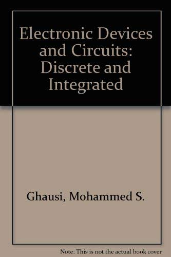 9784833702737: Electronic Devices and Circuits: Discrete and Integrated