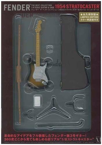 9784840146609: FENDER THE BEST COLLECTION 1954 STRATOCASTER & FORM FIT CASE (Guitar Legend Series) (Japanese Edition)