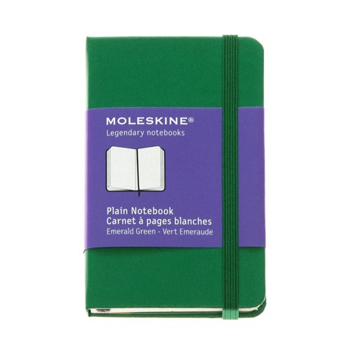 9784863732445: MOLESKINE Moleskine hard cover notebook XS plane (plain) / emerald green ([stationery]) (japan import)