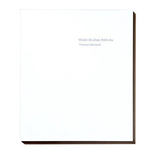 9784865870992: Thomas Demand - Model Studies - Koto-Ku