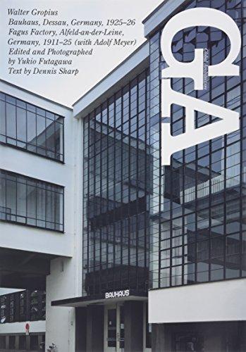 GA / Global Architecture No 70: Bauhaus,: Sharp, Dennis (text);