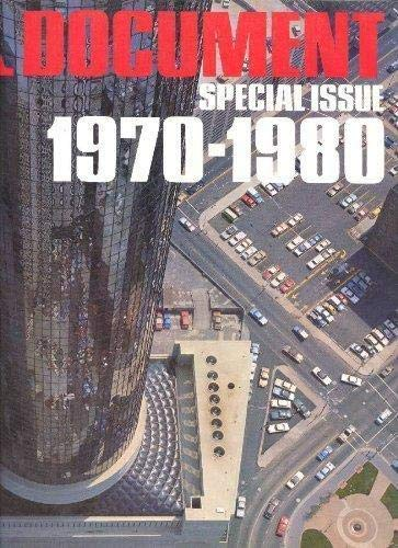 GA DOCUMENT : GLOBAL ARCHITECTURE, SPECIAL ISSUE, 1970-1980 / [EDITED AND PHOTOGRAPHED BY ...