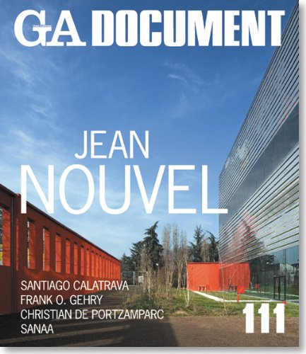 Ga document 111. jean nouvel.: Aa.Vv.
