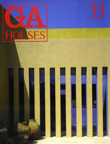 GA Houses No 33 (Global Architecture)