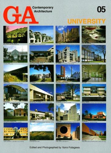 GA Contemporary Architecture: University No. 5 (Hardback): Yukio Futagawa