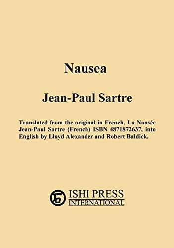9784871872652: Nausea Jean-Paul Sartre