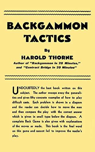 9784871874625: Backgammon Tactics