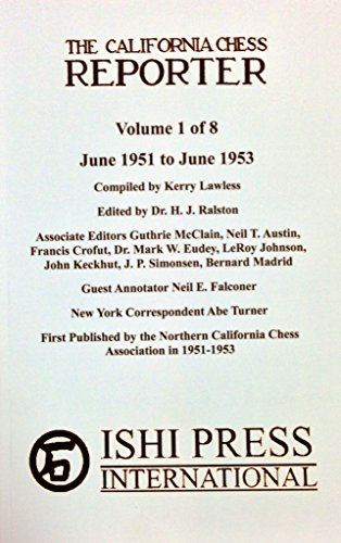 9784871875509: California Chess Reporter 1951-1953 (Volume 1)