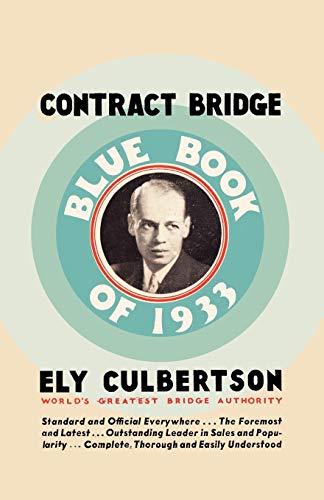 9784871876025: Contract Bridge Blue Book of 1933