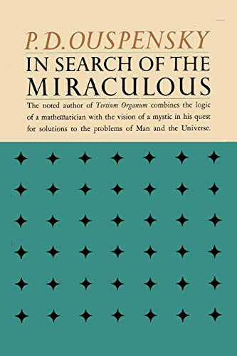 9784871876308: In Search of the Miraculous: Fragments of an Unknown Teaching