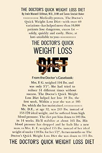 The Doctor's Quick Weight Loss Diet: Stillman M.D., Dr. Irwin Maxwell; Baker, Samm Sinclair