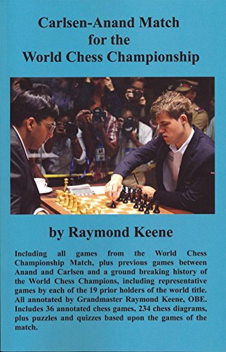 Carlsen-Anand Match for the World Chess Championship: Raymond Keene