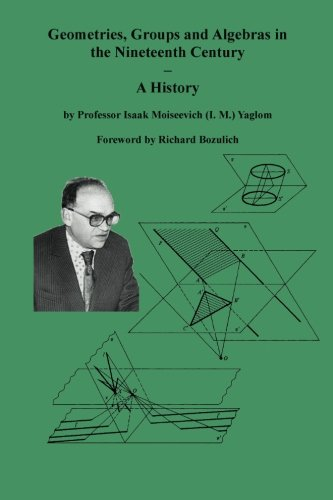 9784871878364: Geometries, Groups and Algebras in the Nineteenth Century - A History