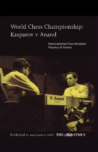9784871878616: World Chess Championship: Kasparov v Anand