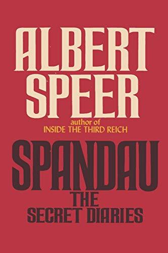 9784871878791: Spandau: The Secret Diaries
