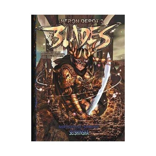 Intron Depot, Vol. 2: Blades, A Collection of Masamune Shirow's Full Color Works (1992-1998) (Eng...