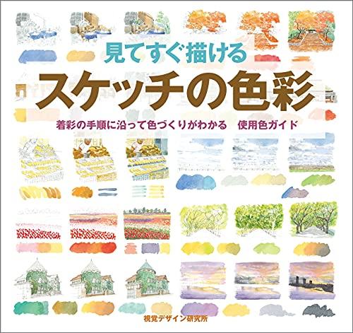 9784881081938: Use color guide color development is known along the procedure of wearing color - the color of the sketch to draw at sight (2006) ISBN: 4881081934 [Japanese Import]