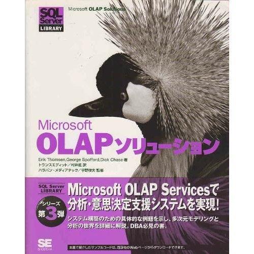 9784881359389: Microsoft OLAP solutions (SQL Server LIBRARY) (2000) ISBN: 488135938X [Japanese Import]