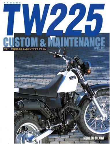 9784883930937: Yamaha Tw 225 Custom & Maintenance