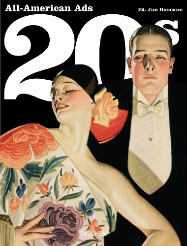 9784887832022: All American Ads of the 20s (Midi)