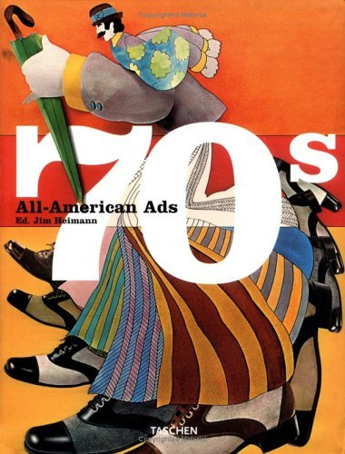 9784887832046: All-American Ads of the 70s
