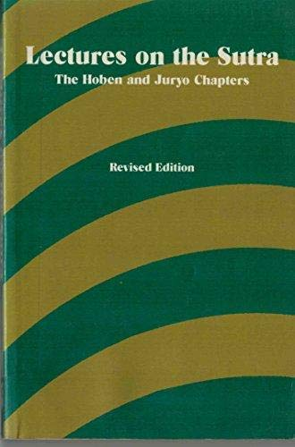 Lectures on the Sutra: The Hoben and