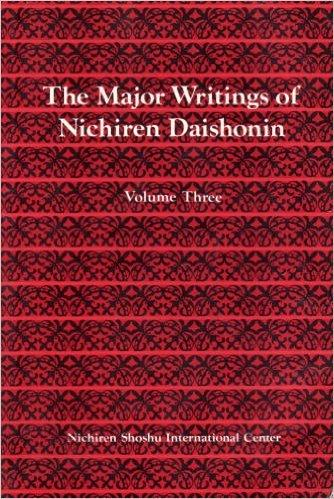 9784888720182: Major Writings of Nichiren Daishonin: Volume Three